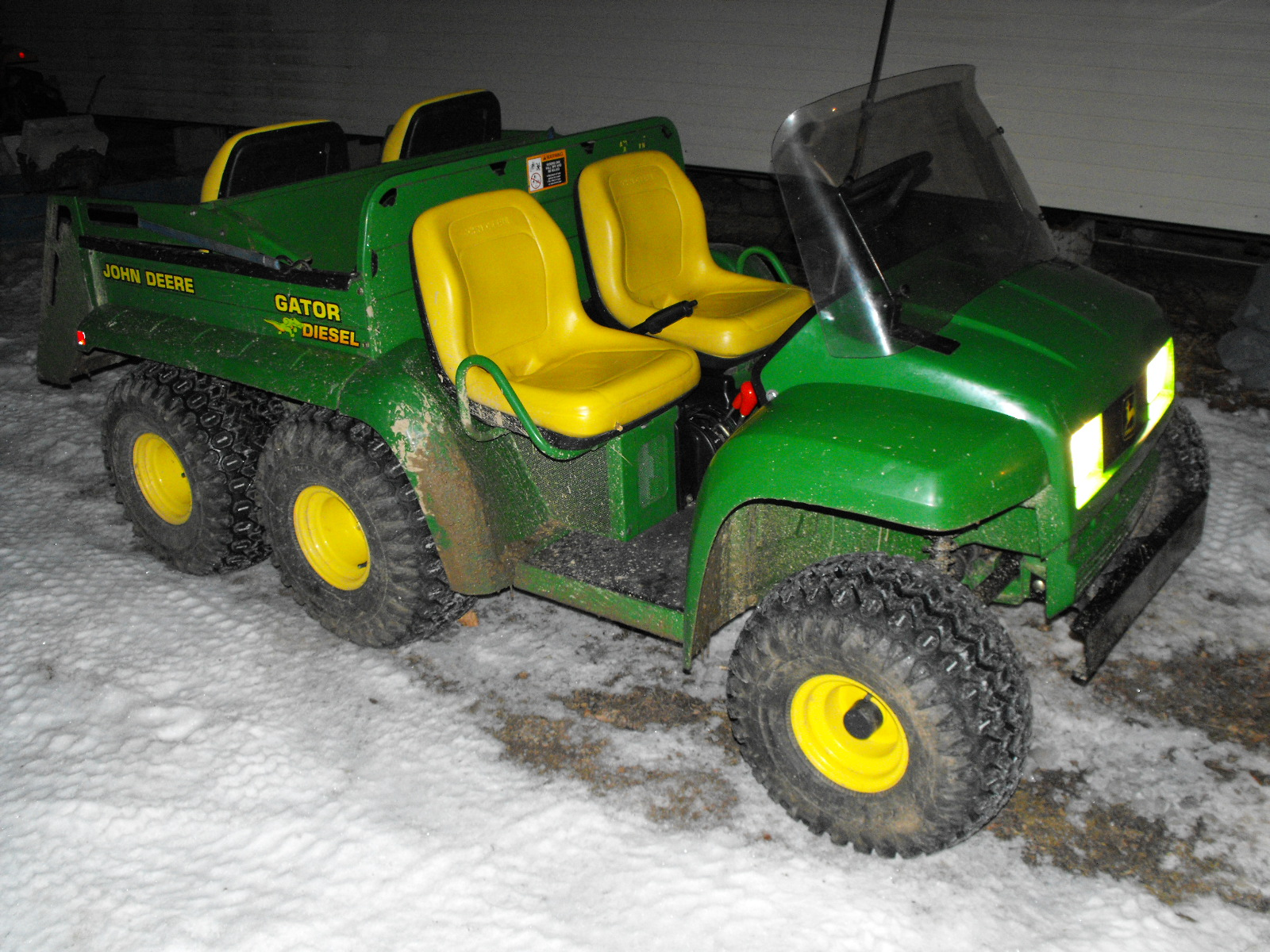 John Deere Gators For Sale >> Might sell my '2000 Diesel 6x4 Gator - John Deere Gator Forums