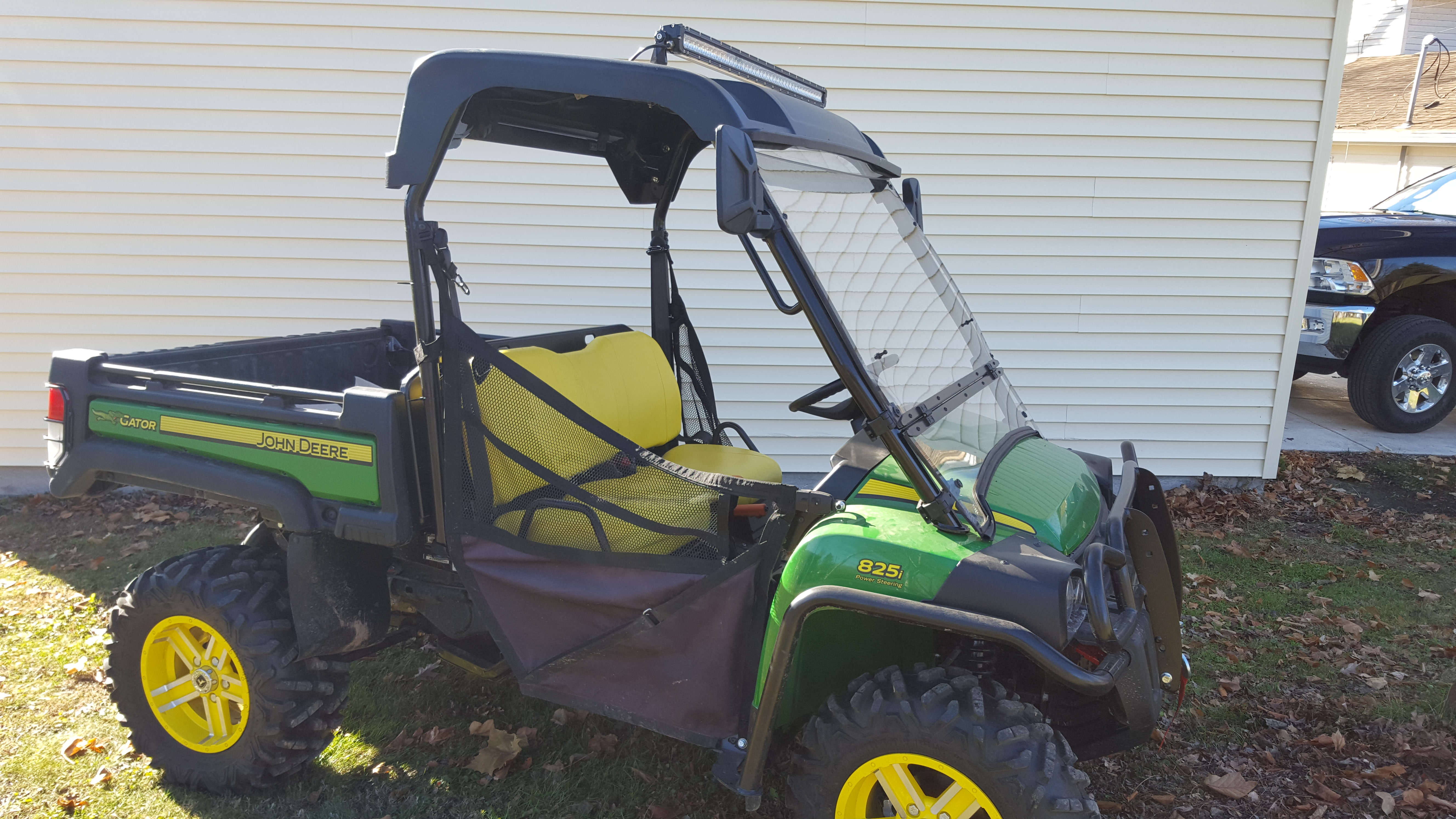 John Deere Gator Lights : New led lightbar on my gator john deere forums