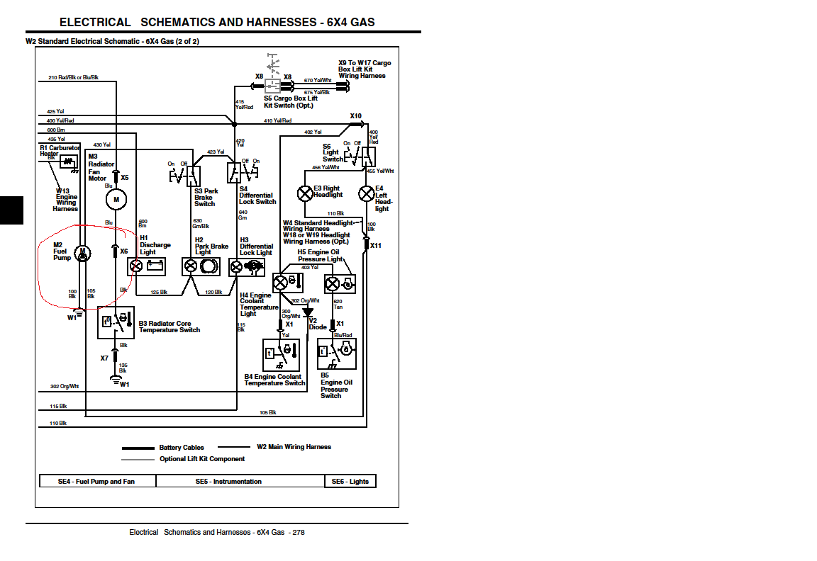 Fuel Pump Wiring Harness Diagram from www.gatorforums.net