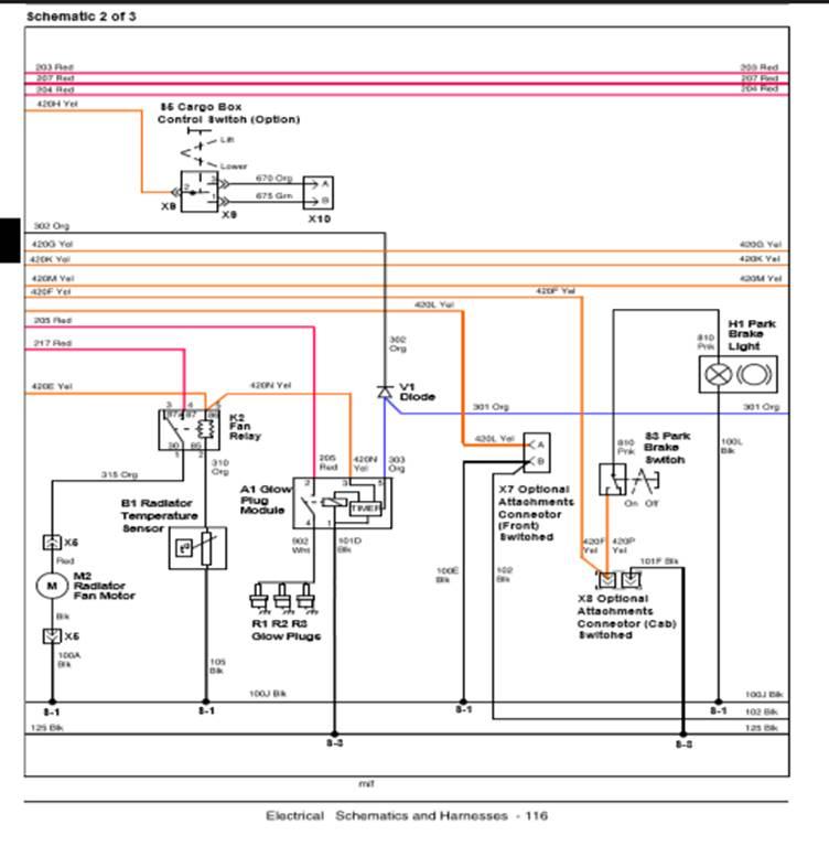 john deere gator 850d wiring diagram