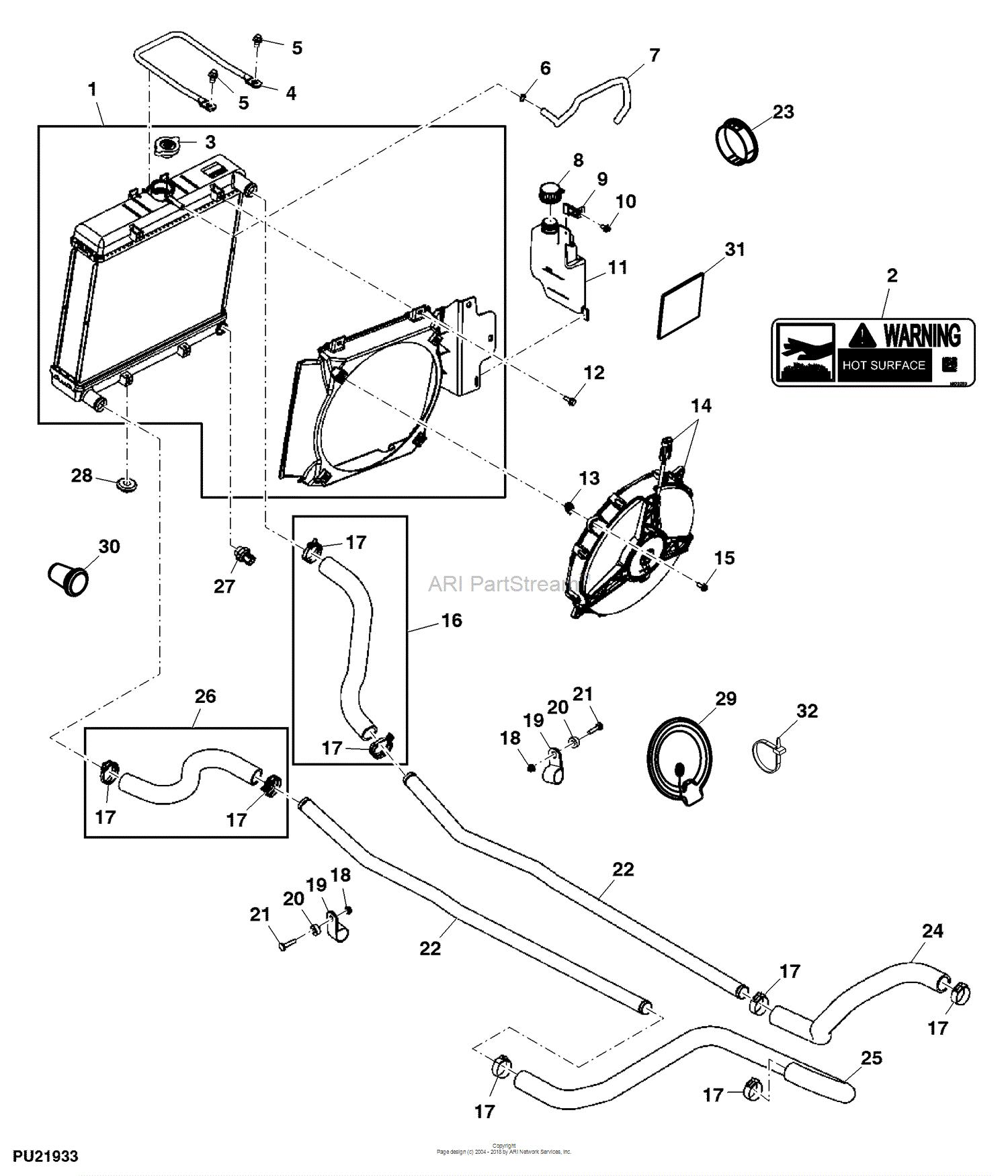 Radiator 2011 855d