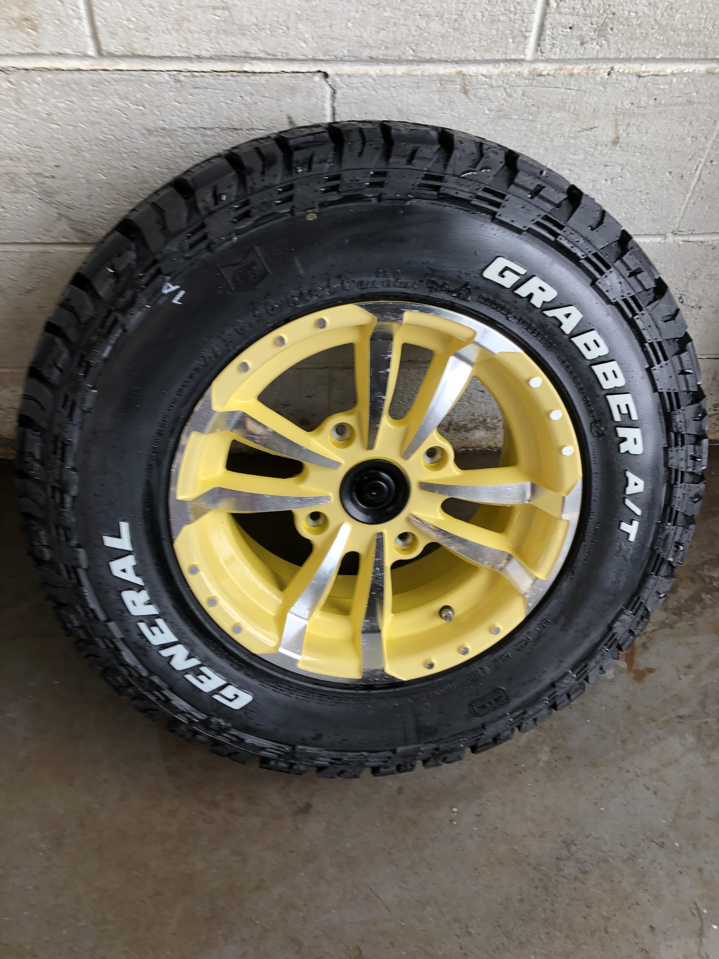 Street Tires for 825/835/855/865, Kubota as Well - John