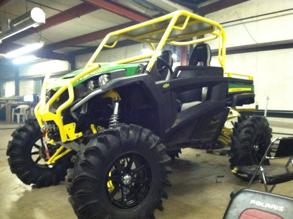 John Deere Xuv 550 Lift Kit >> Getting A Lift On The Gator John Deere Gator Forums