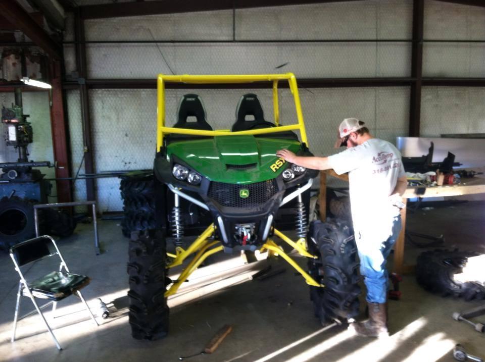 Rsx850i Big Lift Kit John Deere Gator Forums