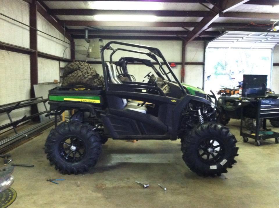 RSX850i BIG Lift Kit - John Deere Gator Forums