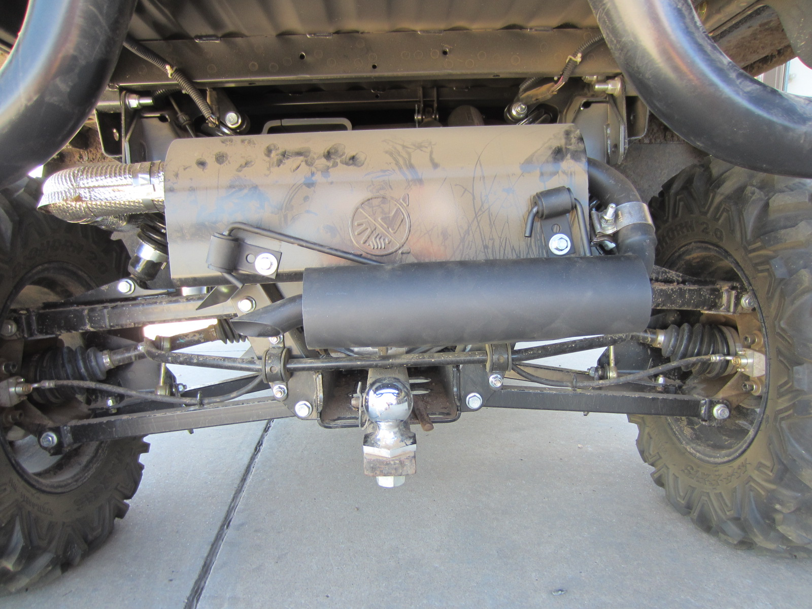 Silent Rider Exhaust Silencer (almost) installed! - John