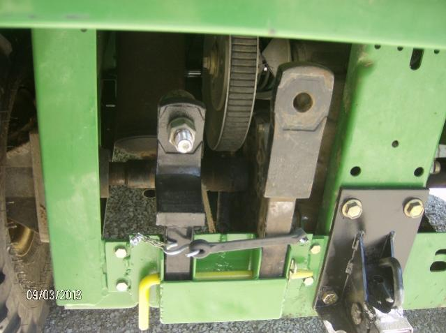 Adjustable Hitch Receiver >> TS 4x2 Winch mount? - John Deere Gator Forums