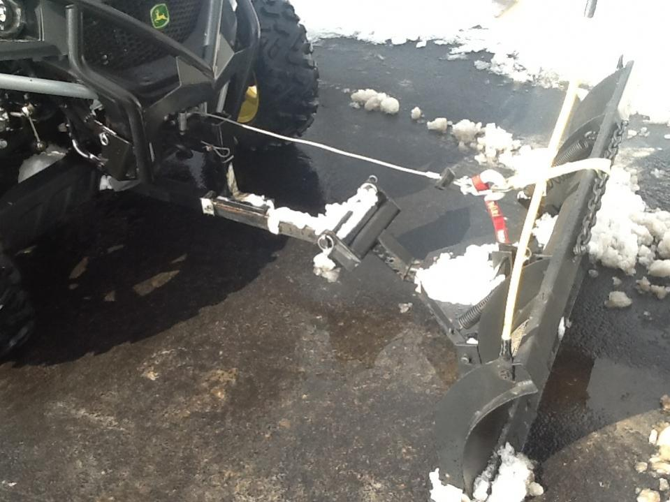 Cheap Insurance Quote >> Snow plow mount Easy on/off , Cheap, - John Deere Gator Forums