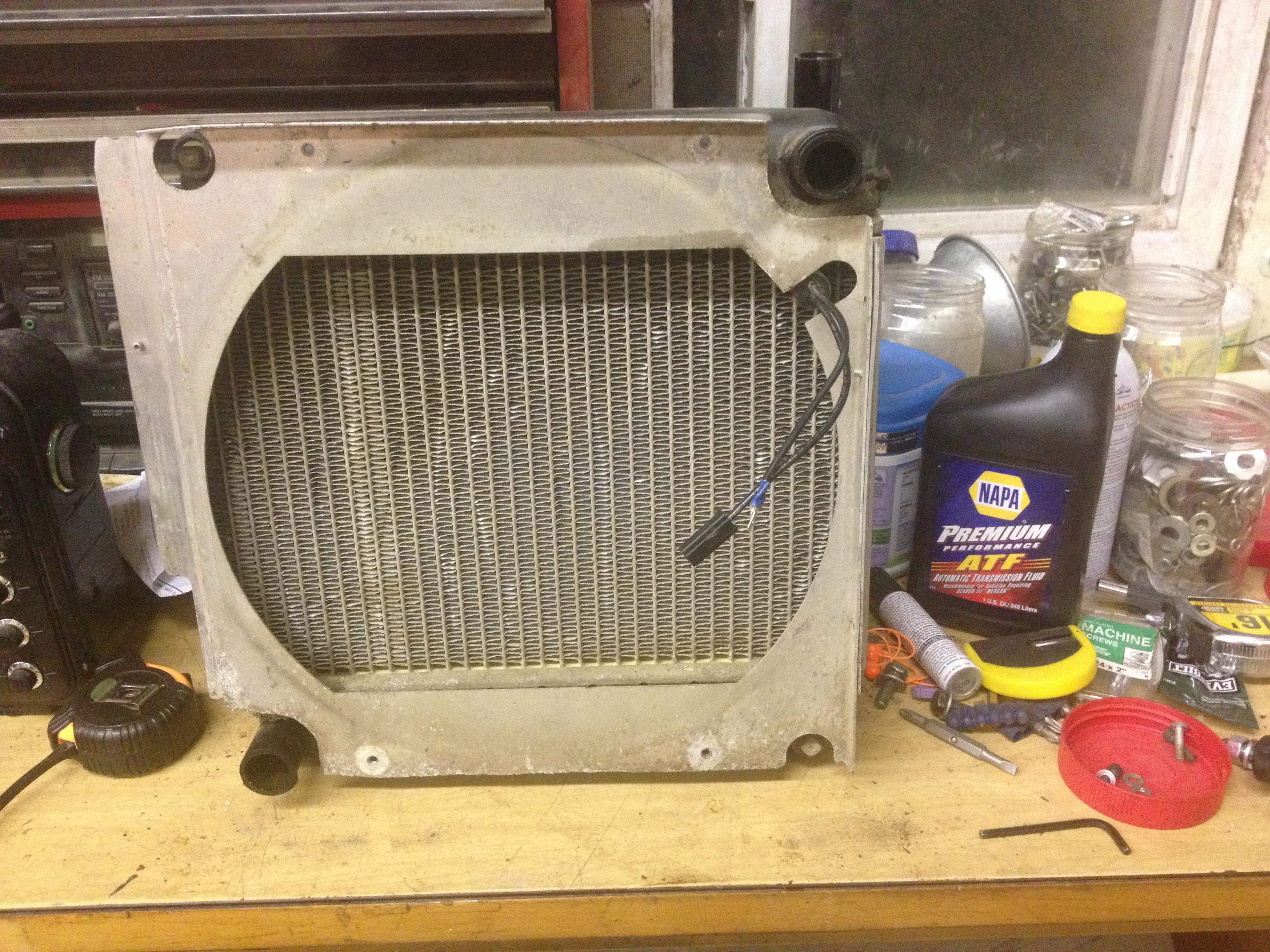 6x4 Diesel Cooling Fan - No Voltage