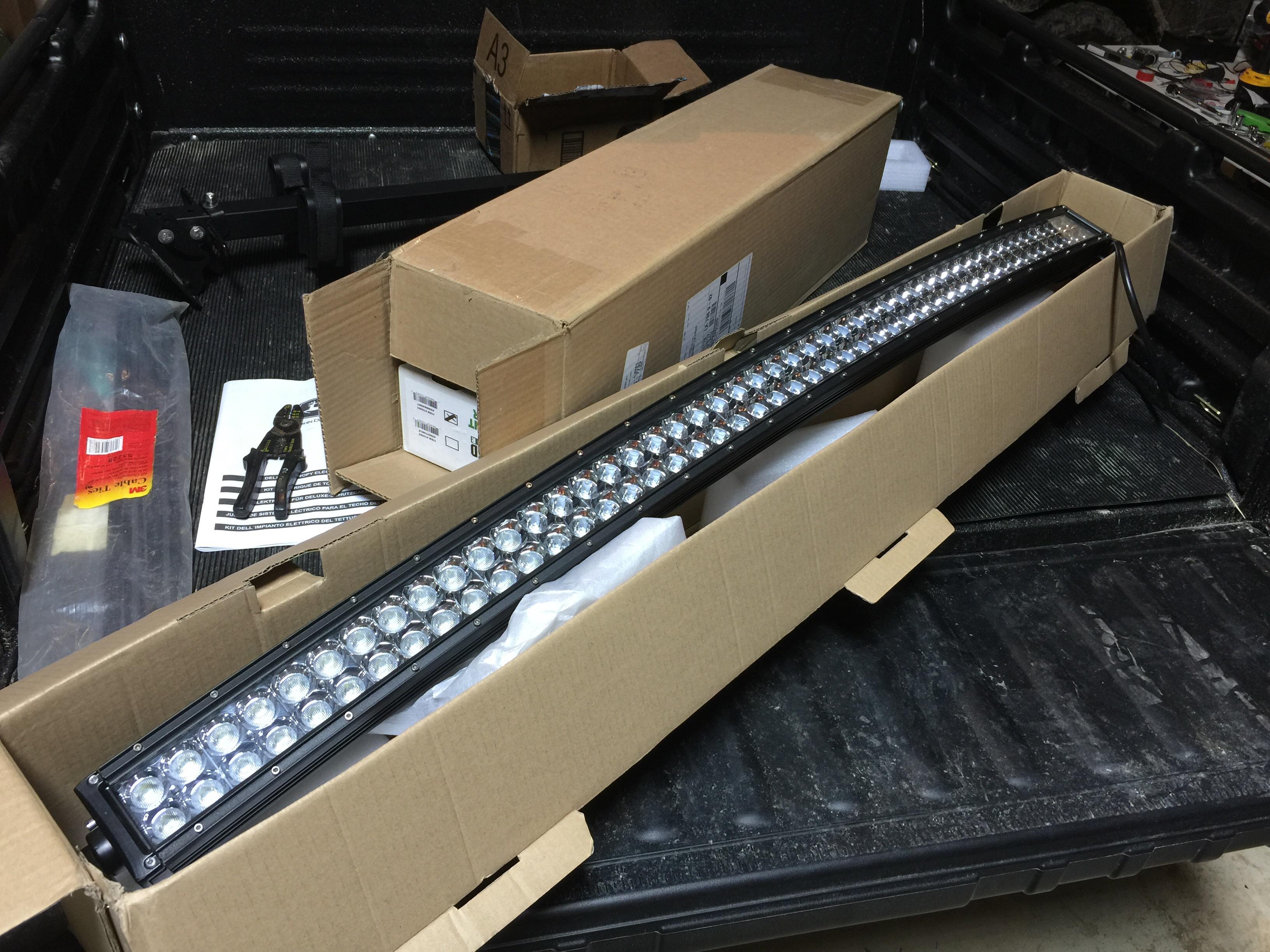 825i s4 front light bar john deere gator forums rh gatorforums net Off-Road Light  Wiring Harness MBRP Light Bar Wiring Diagram