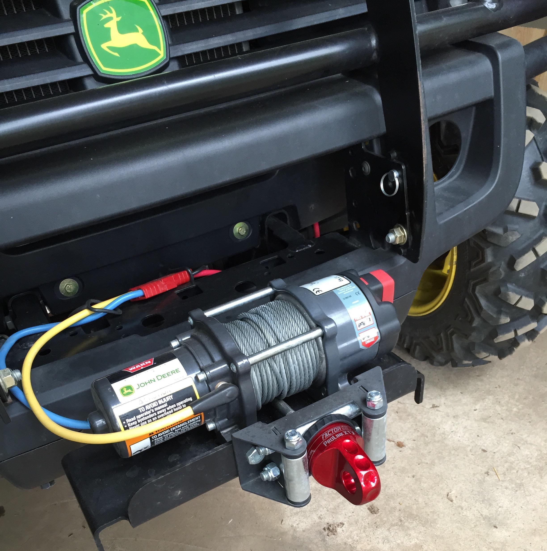 RSX 860i winch ready install? - John Deere Gator Forums