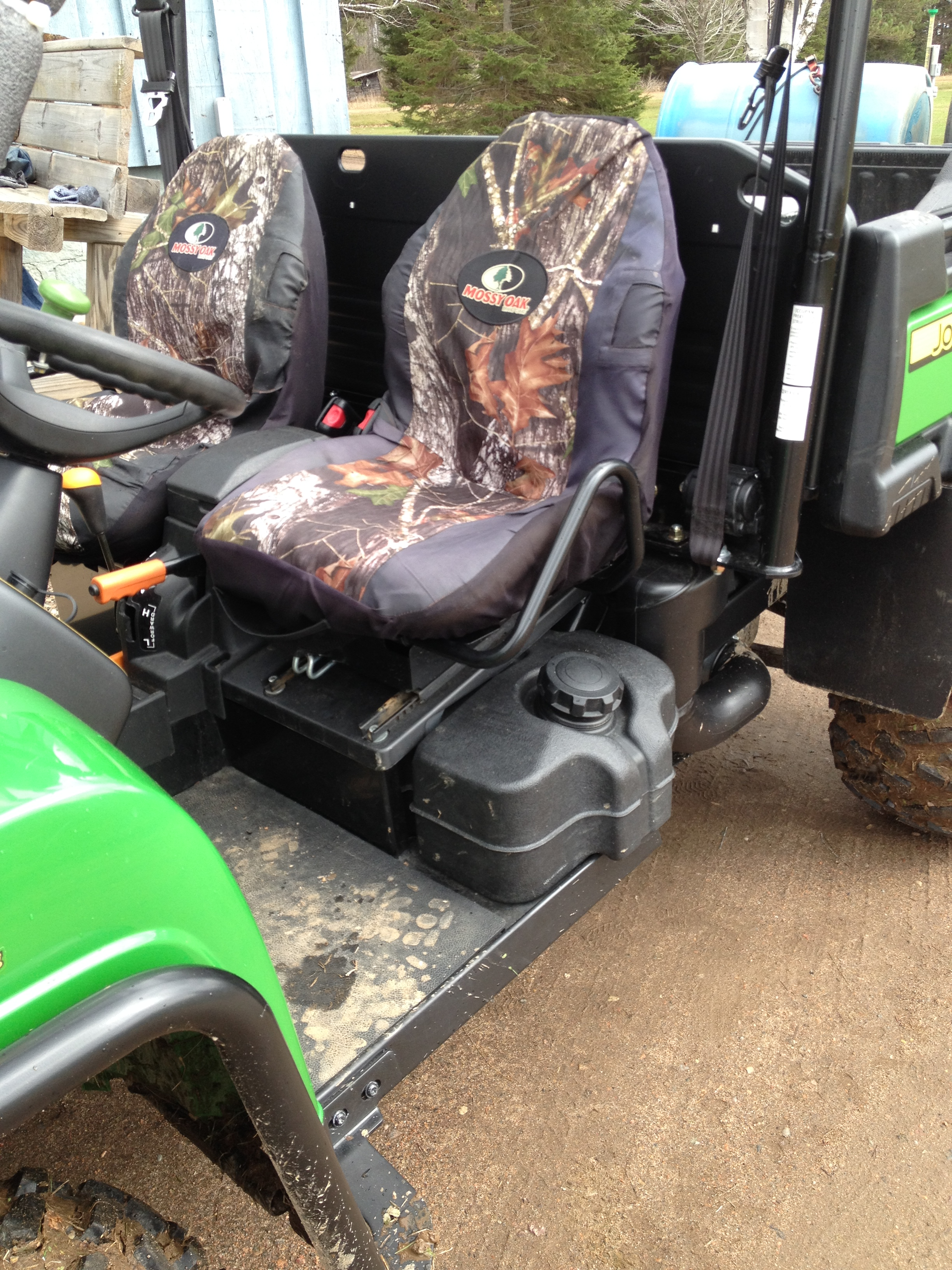 John Deere Seat Covers For Trucks : I seat cover john deere gator forums