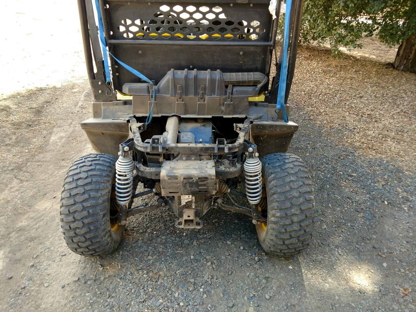 Xuv550 s4 lift kit - John Deere Gator Forums