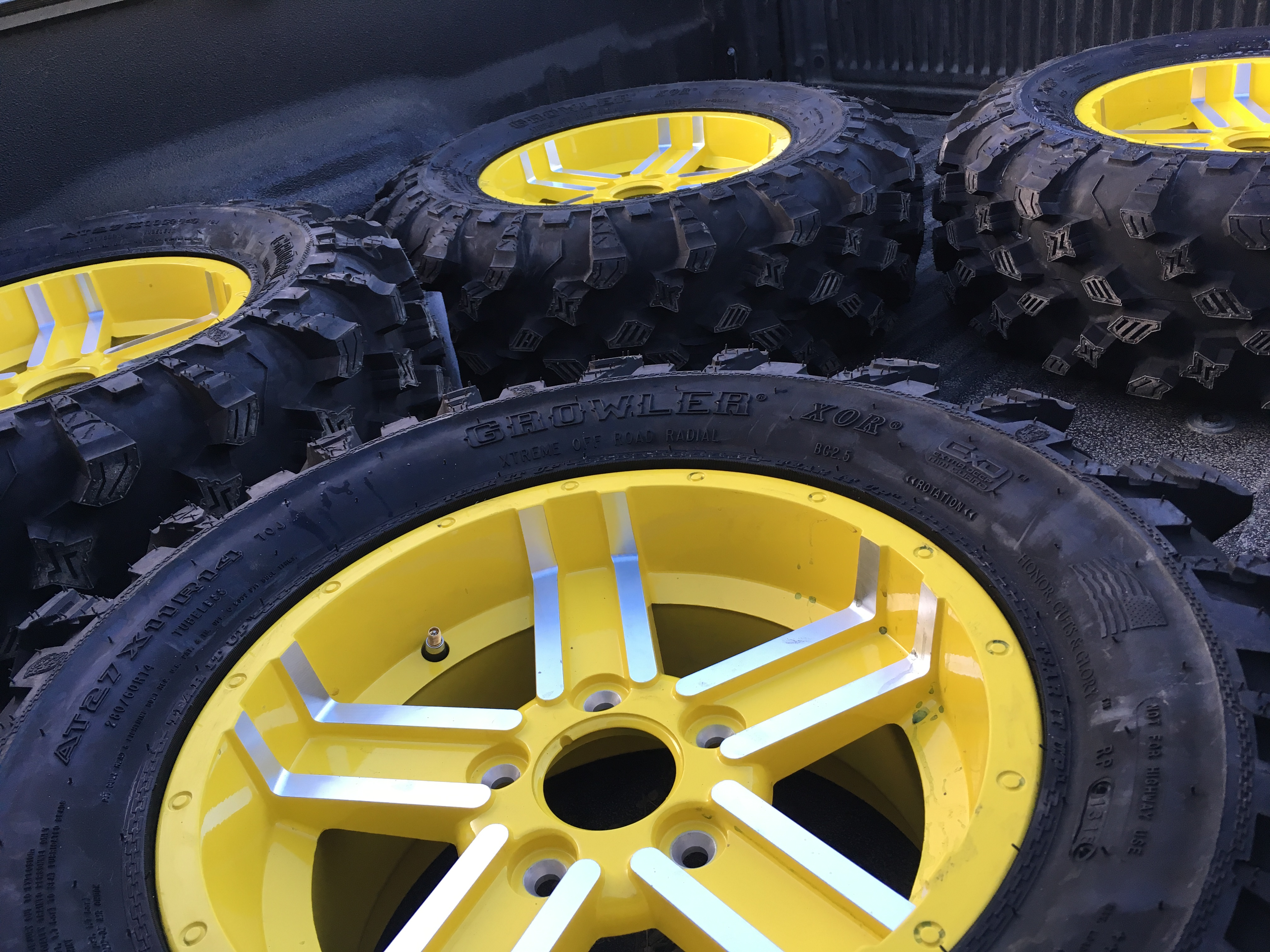 John Deere Tire Rim : New wheels and tires john deere gator forums