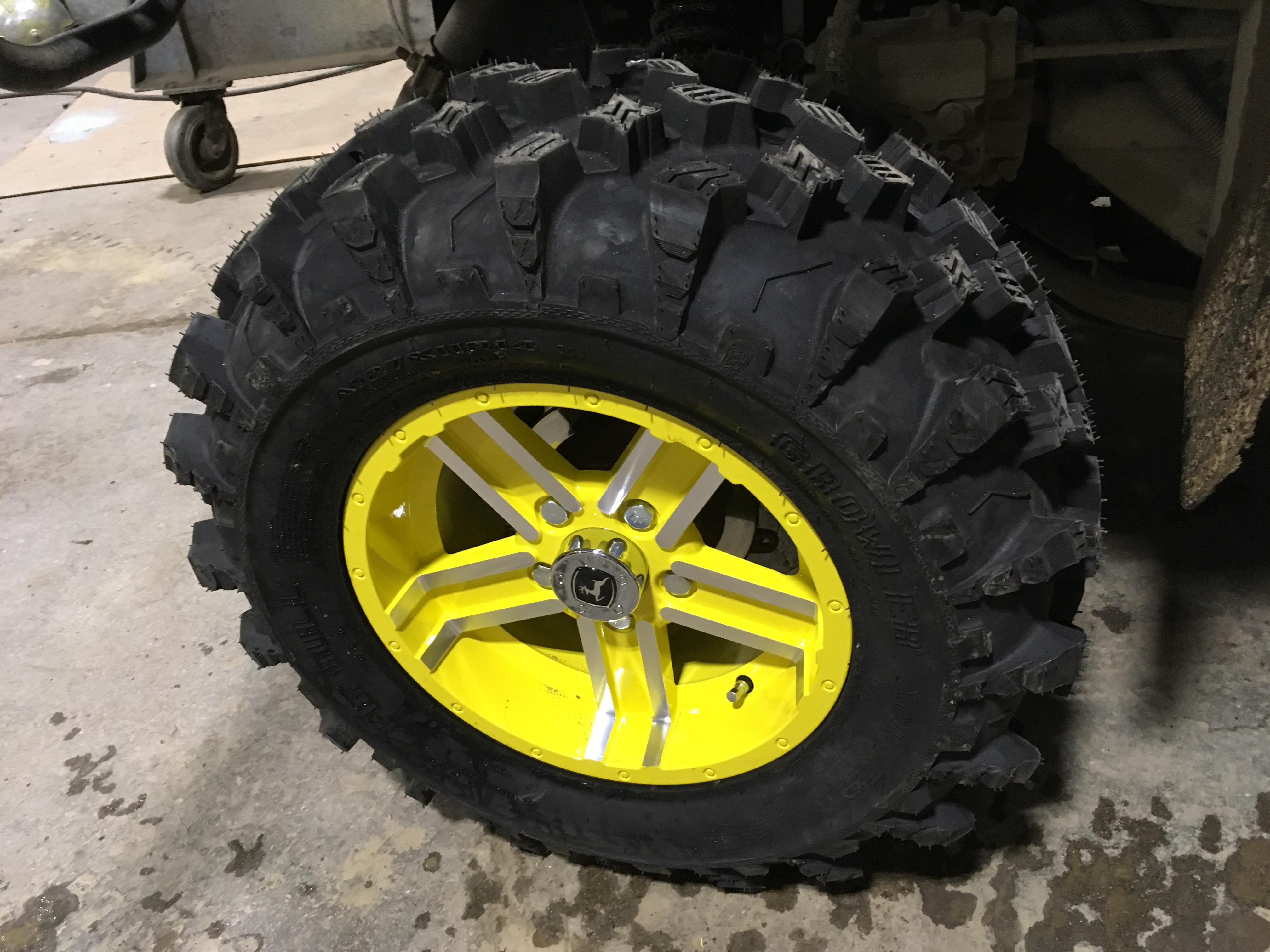 John Deere Gator >> New wheels and tires! - John Deere Gator Forums