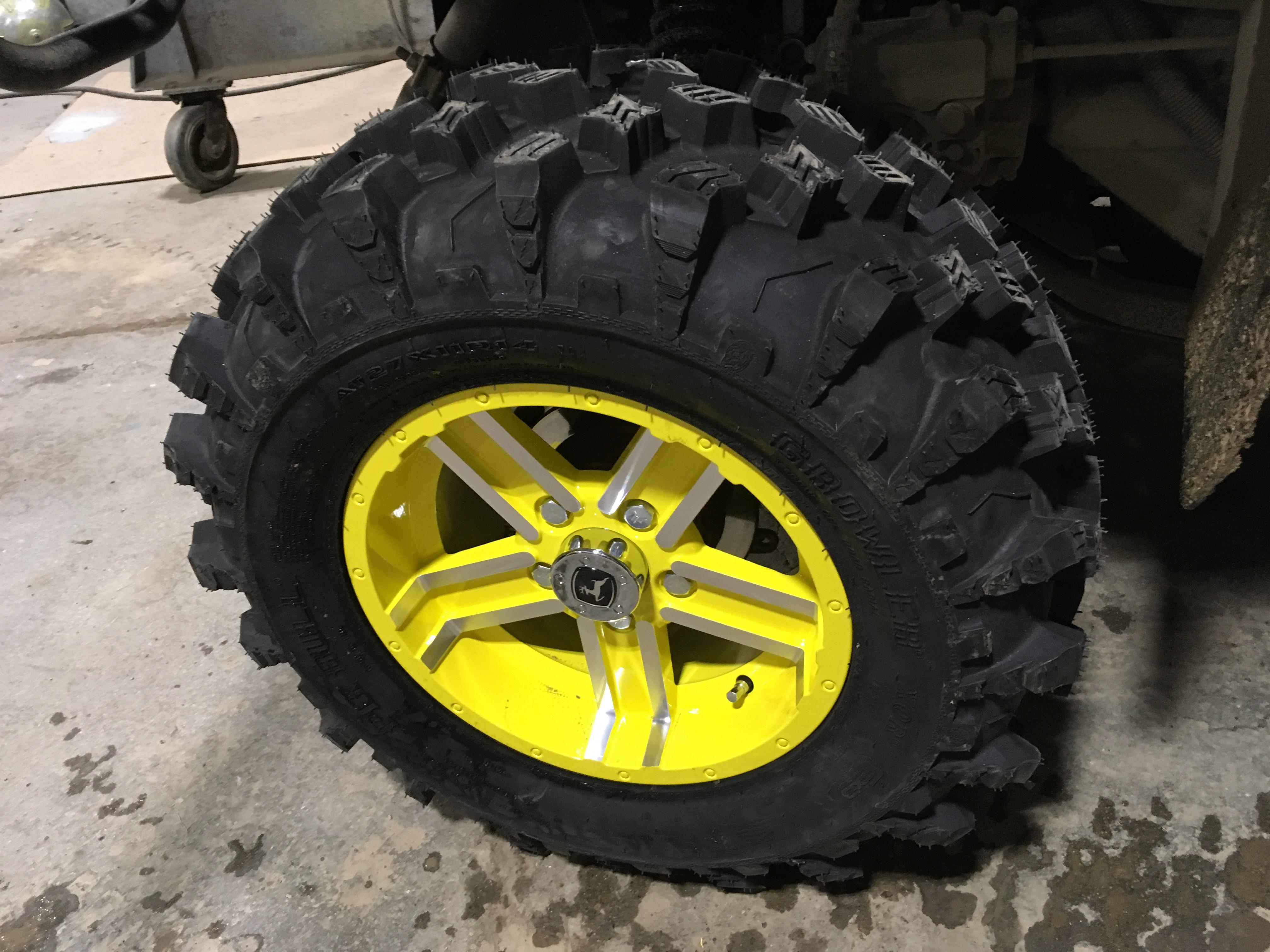 John Deere Wheels And Rims : New wheels and tires john deere gator forums
