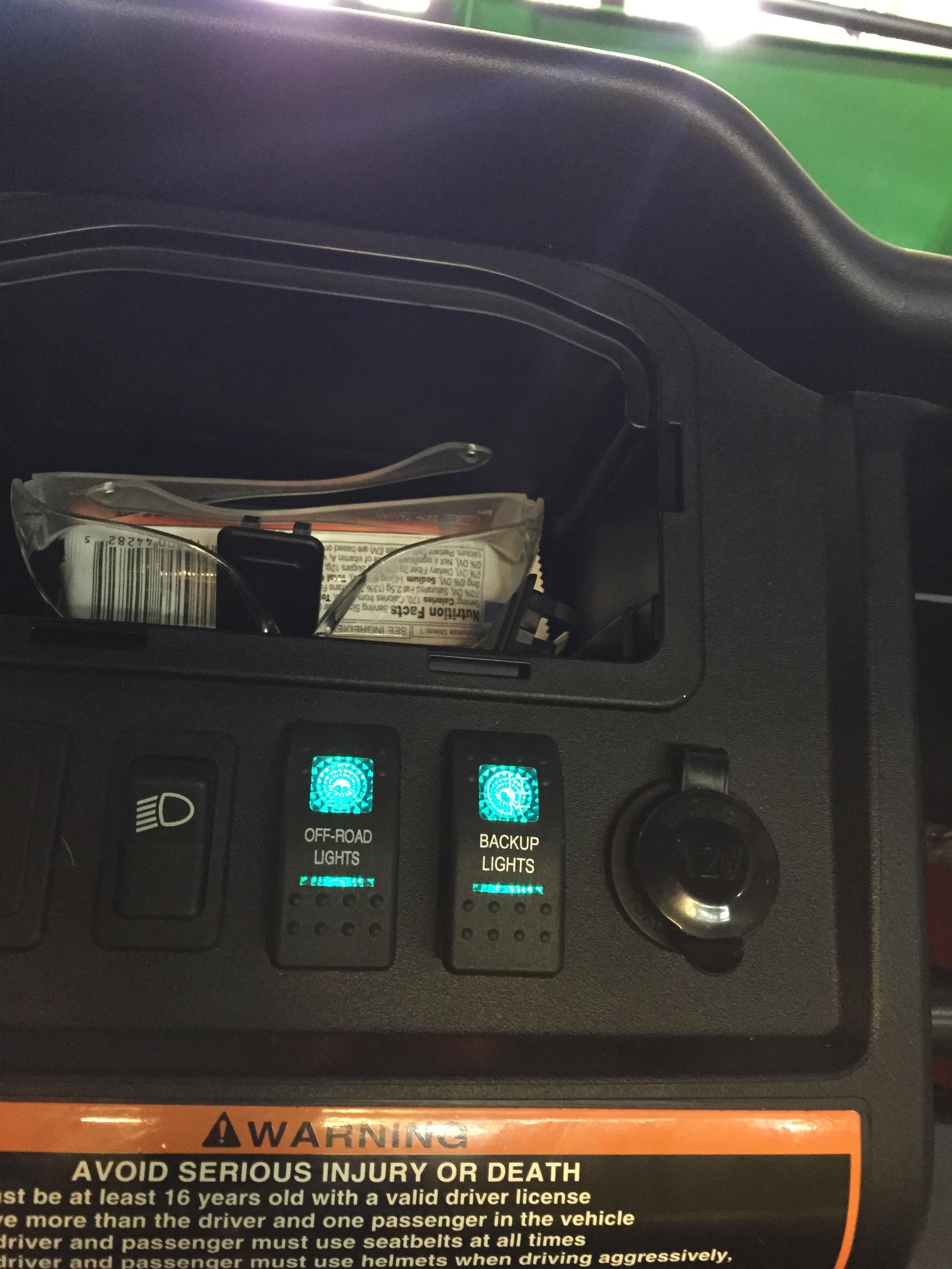 4457d1483198391 825 lights key switch 825 with lights john deere gator forums John Deere Gator Starter Wiring Diagram at bayanpartner.co