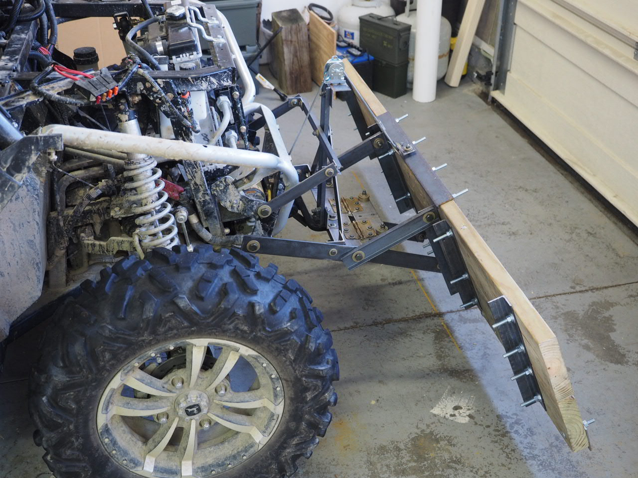 Home Built Snow Plow For 850i John Deere Gator Forums