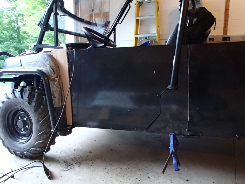Click image for larger version Name P6060260.jpg Views 1806 Size 150.0 & homemade half doors for a gator 825is4 - John Deere Gator Forums