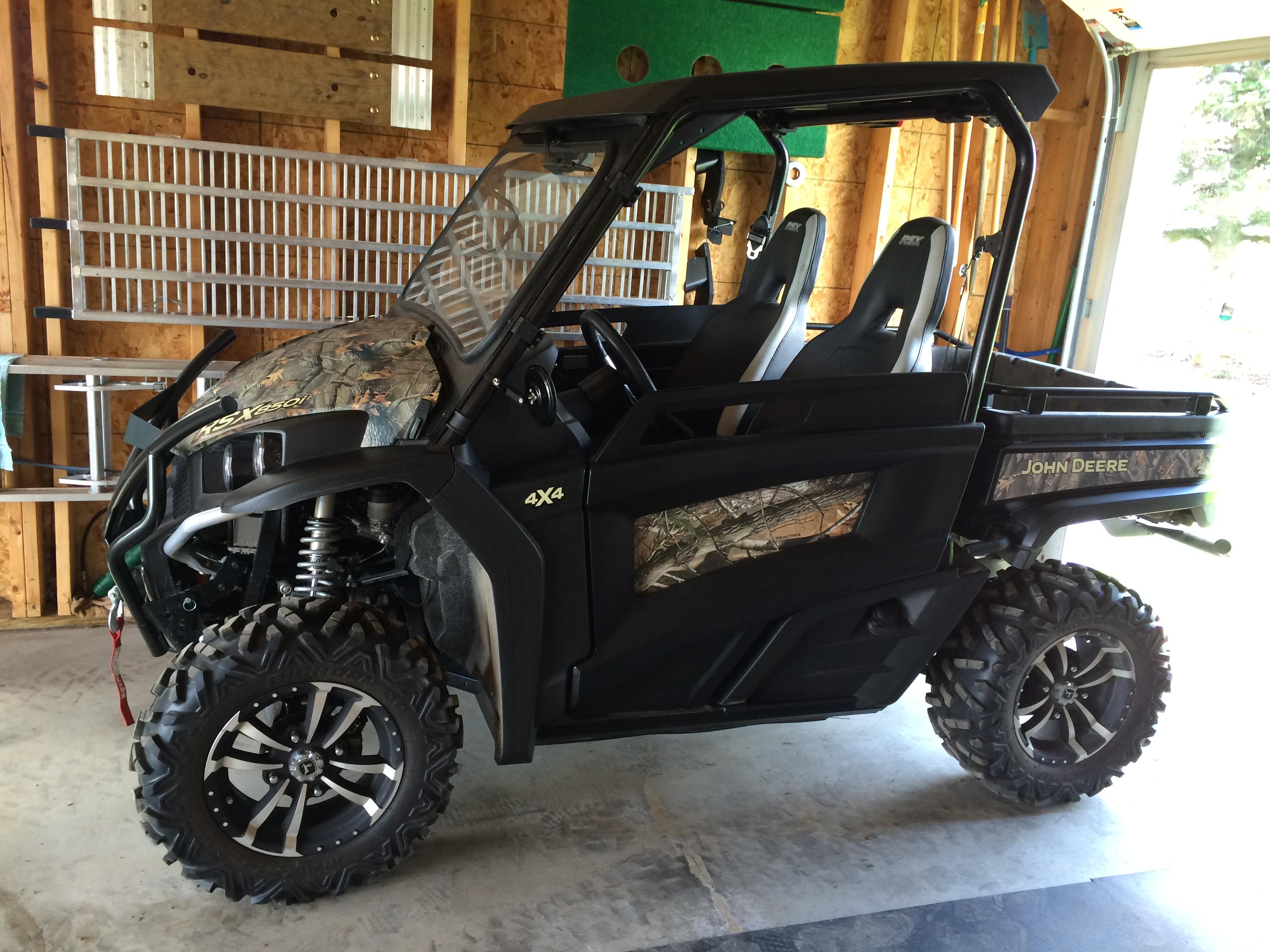 Rsx850i Custom Door Inserts John Deere Gator Forums
