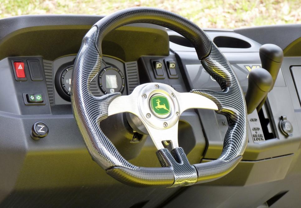 """John Deere Gator >> """"Ridge Runner"""" build up- Steering Wheel - John Deere Gator ..."""
