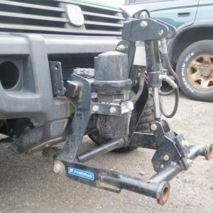 Still looking for a plow blade for this power angle mount.